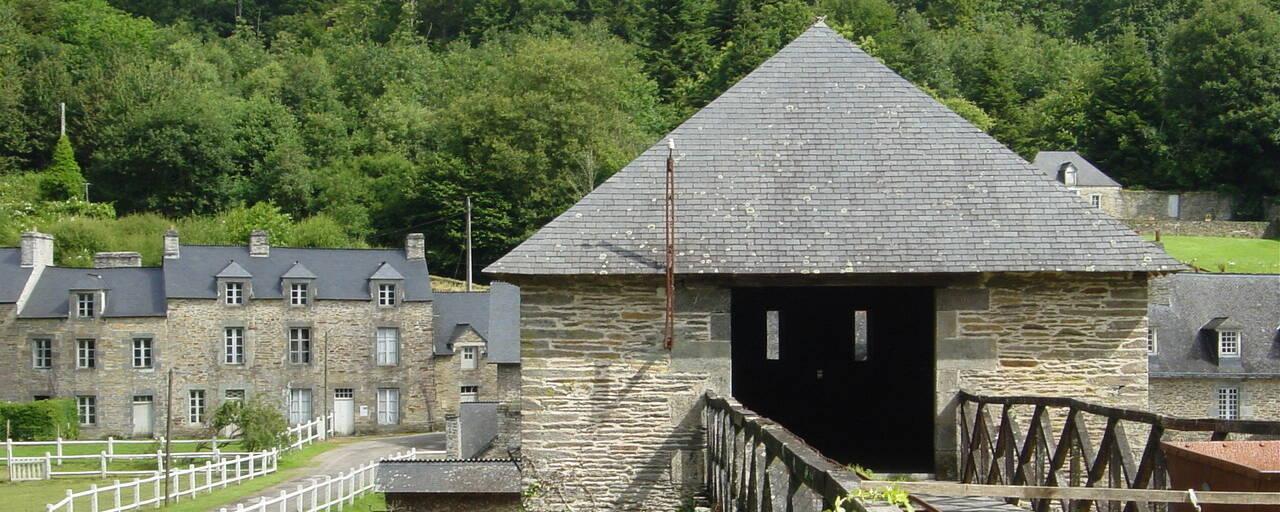 Anciennes forges des Salles en Sainte Brigitte