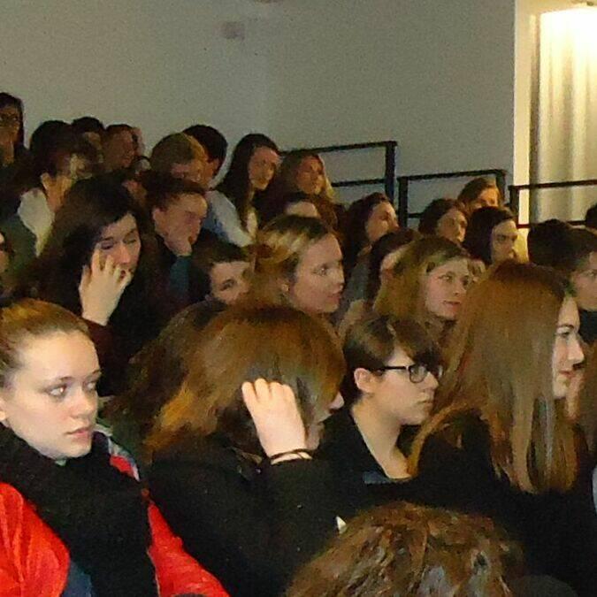 Conférence sur les institutions européennes et la mobilité des jeunes - Lycée Jeanne d'Arc de Pontivy