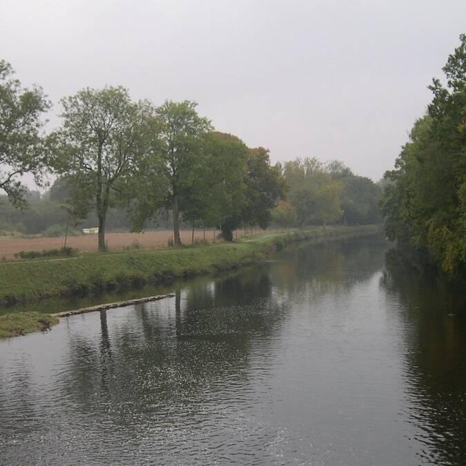 Le Blavet, entre méandres et canal