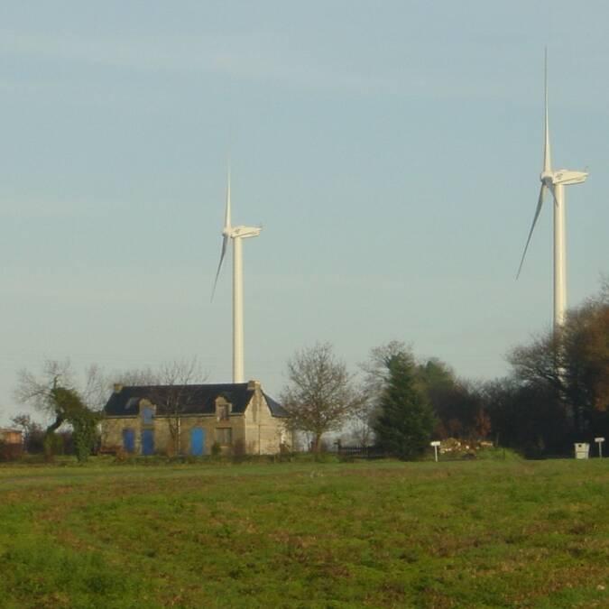 Un territoire marqué par les éoliennes